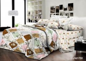 семейный комплект постельного белья ранфорс