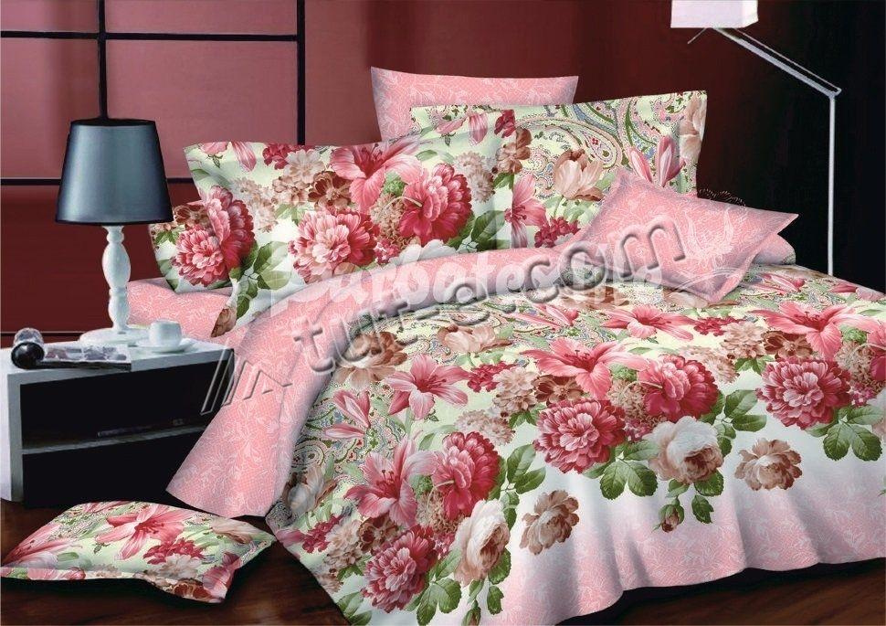 комплект постельного белья сатин ес-2321
