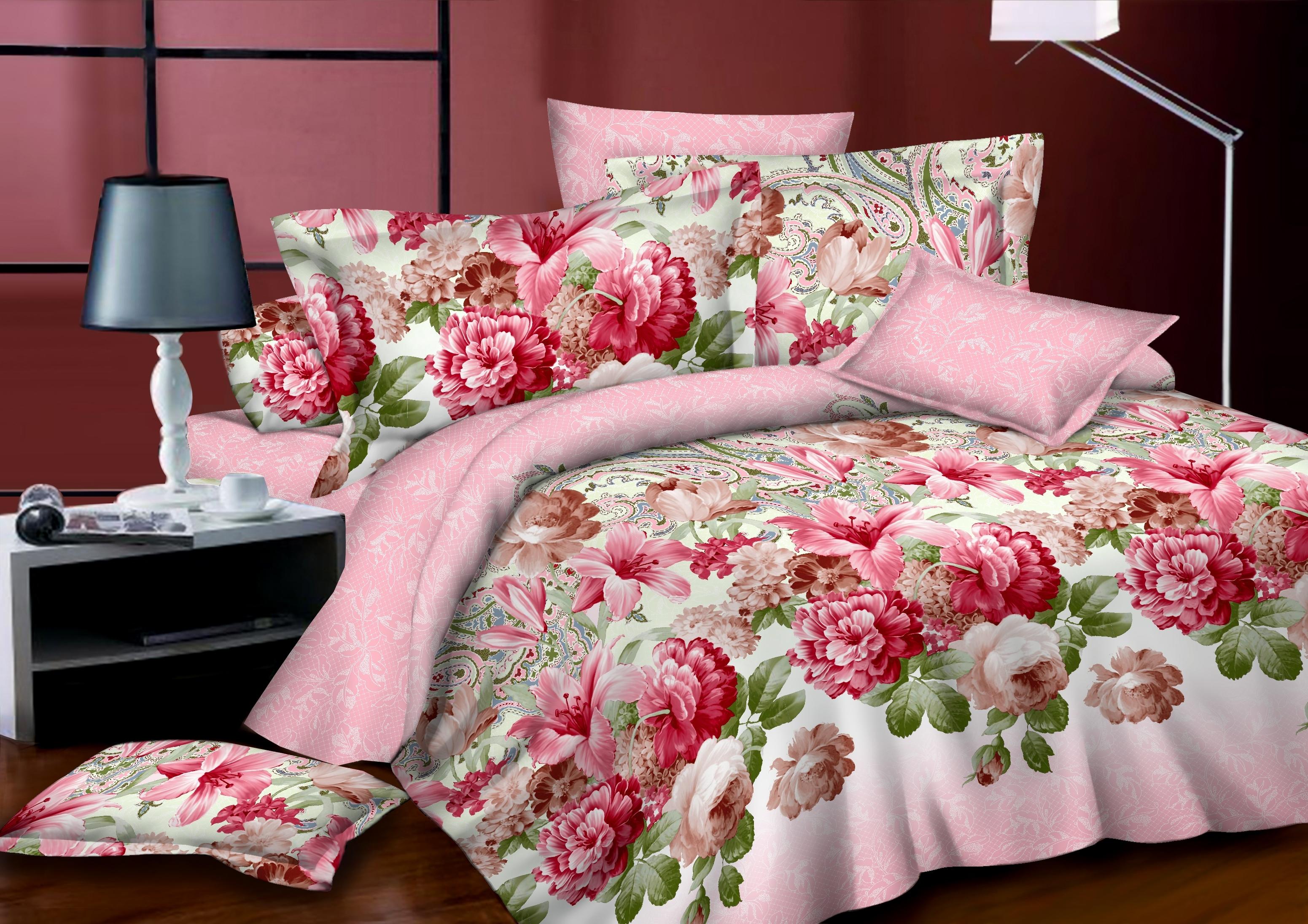 комплект постельного белья сатин дс-2321