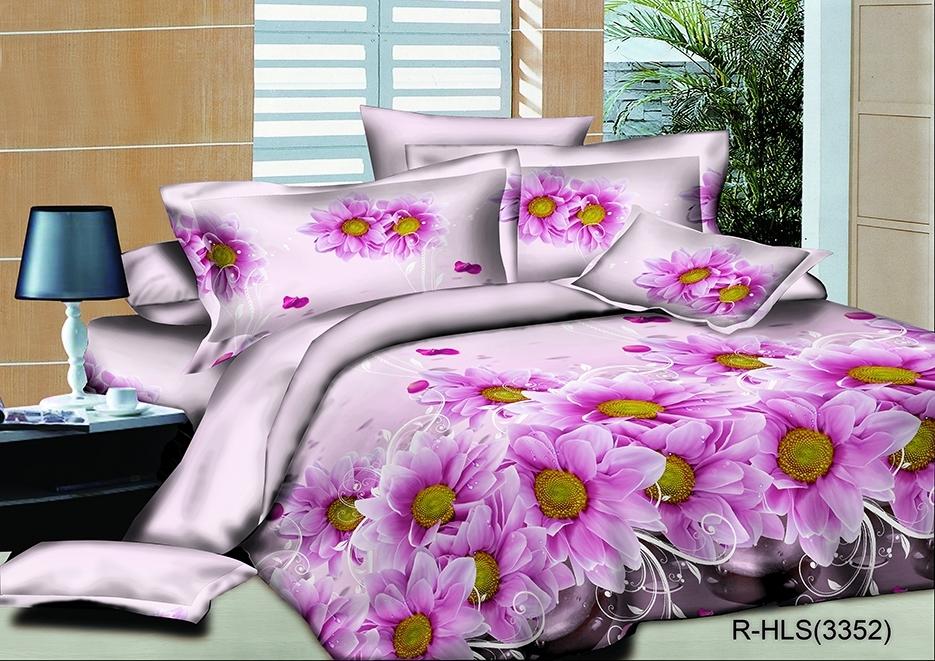 комплект постельного белья полисатин опс-3352