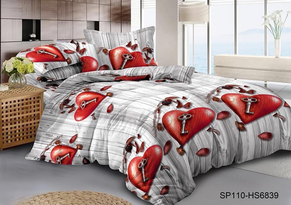 комплект постельного белья полисатин опс-6839