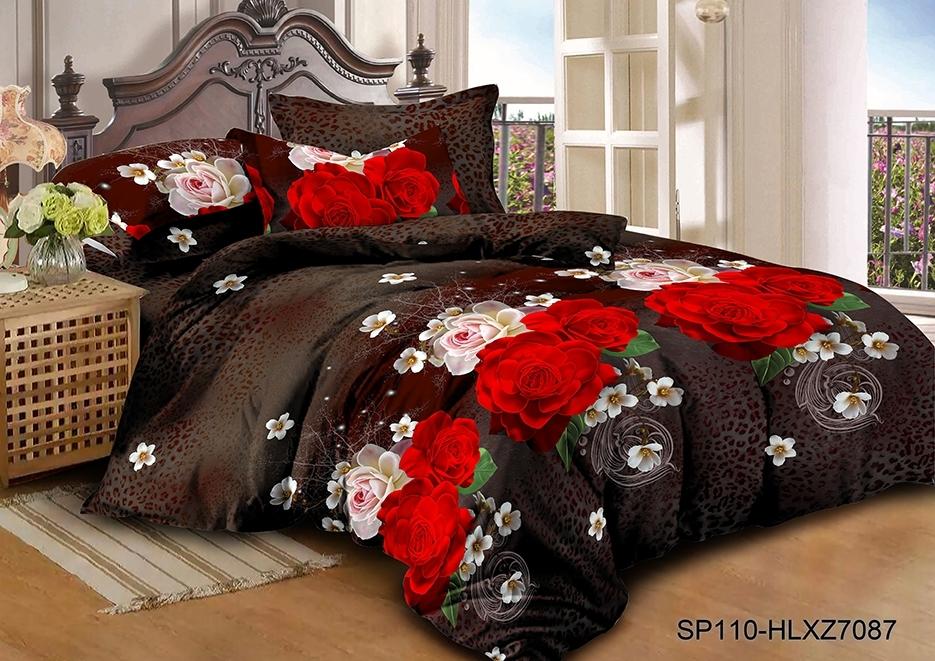 комплект постельного белья полисатин опс-7087