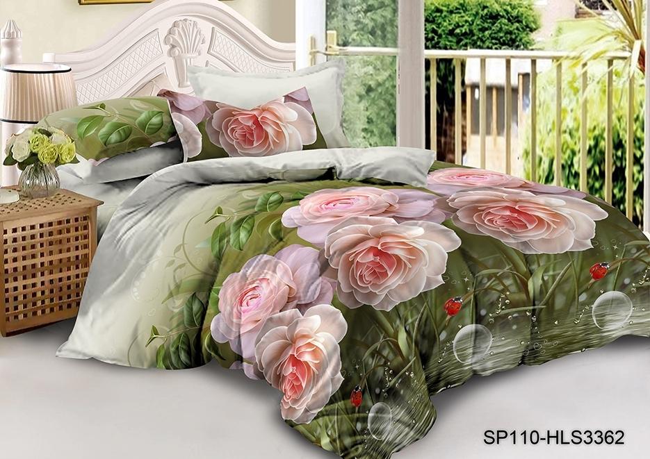 комплект постельного белья полисатин опс-3362
