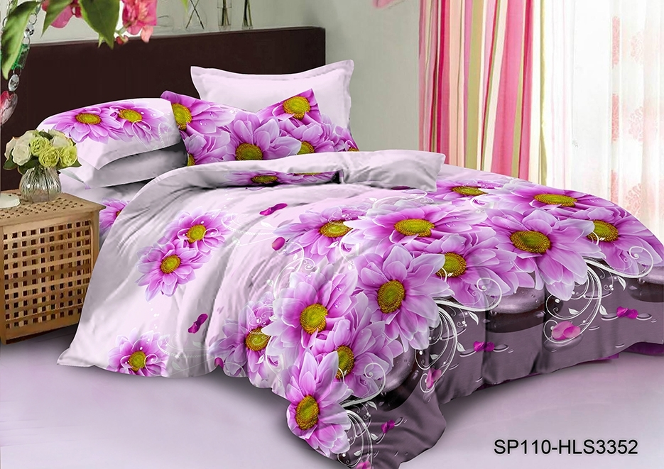 комплект постельного белья полисатин дпс-3352