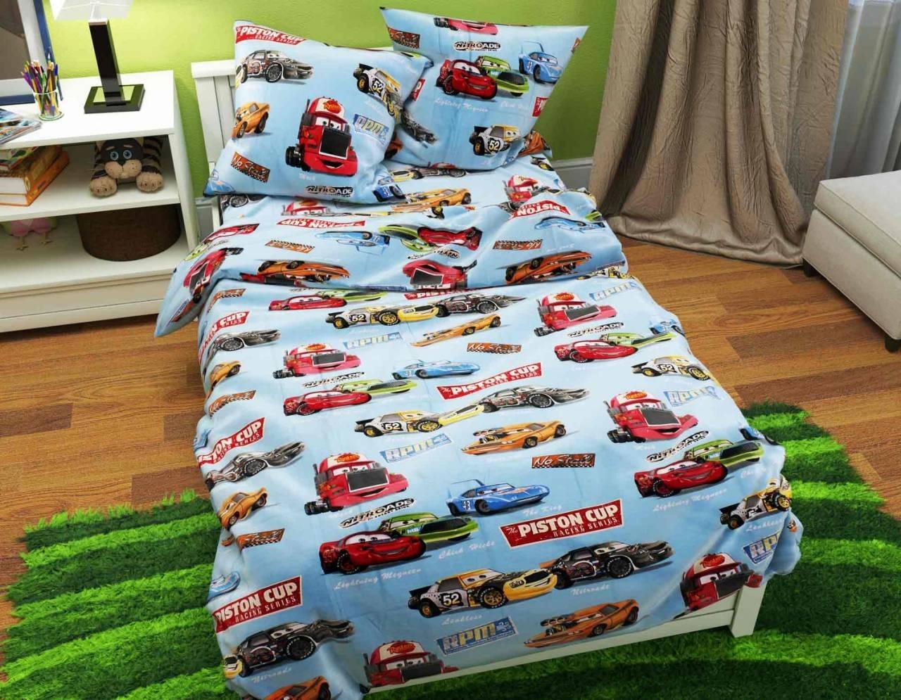 постельное белье в кроватку бязь ДКБ-18557