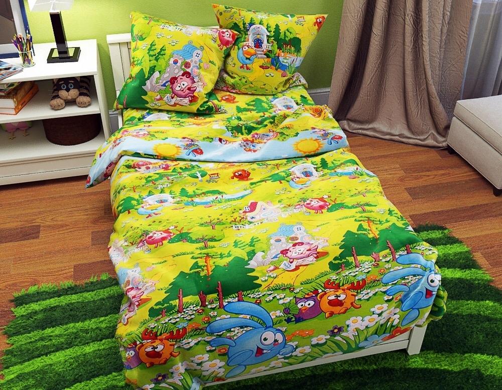 постельное белье в кроватку бязь ДКБ-3009
