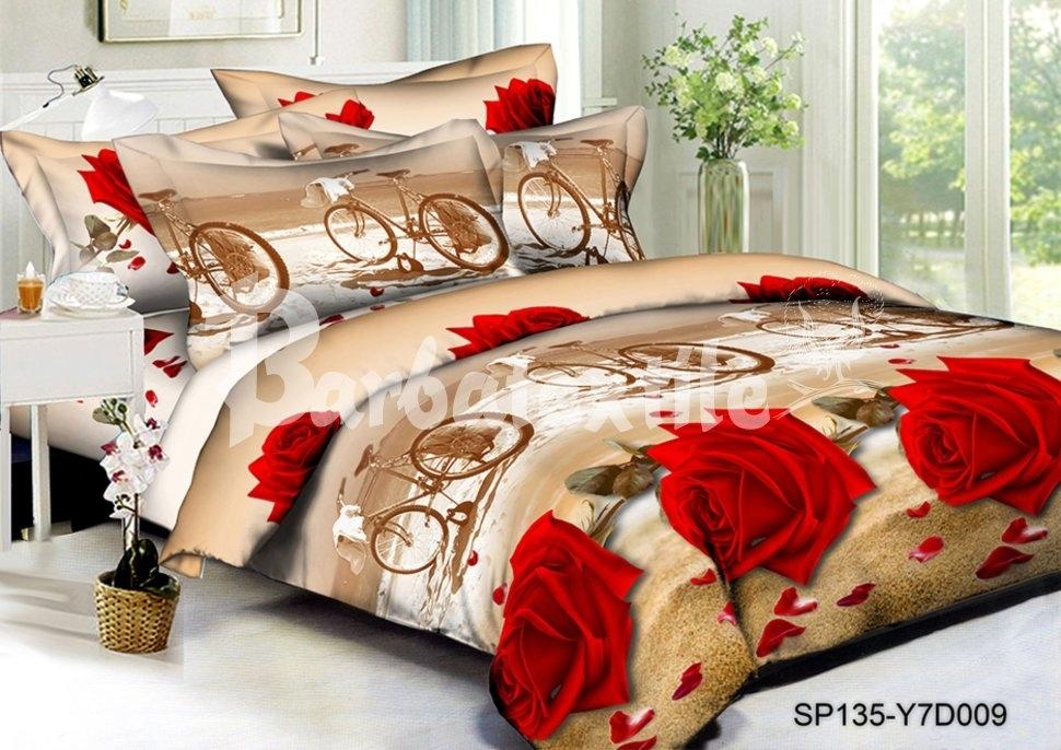 комплект постельного белья полисатин дпс135-009