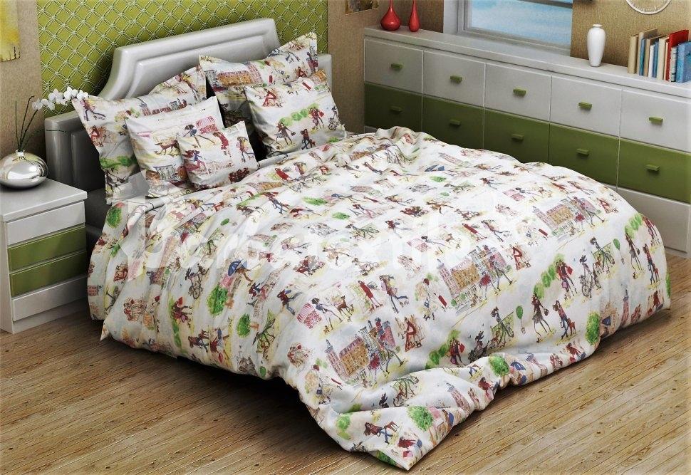 комплект постельного белья бязь об-3091