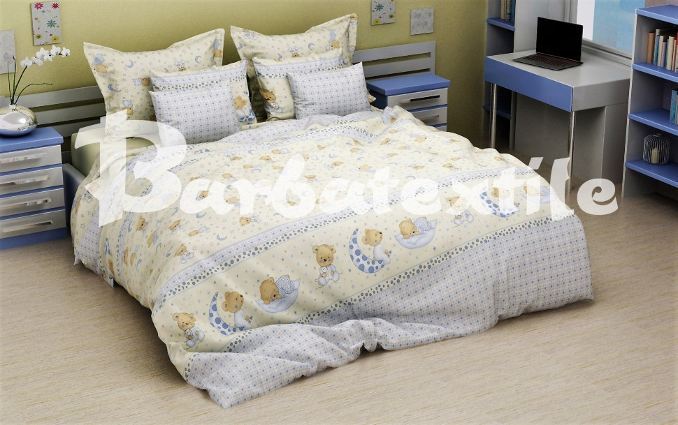 постельное белье в кроватку бязь ДКБ-4011