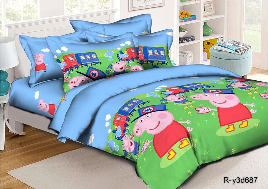 постельное белье детское ранфорс ДОР-687