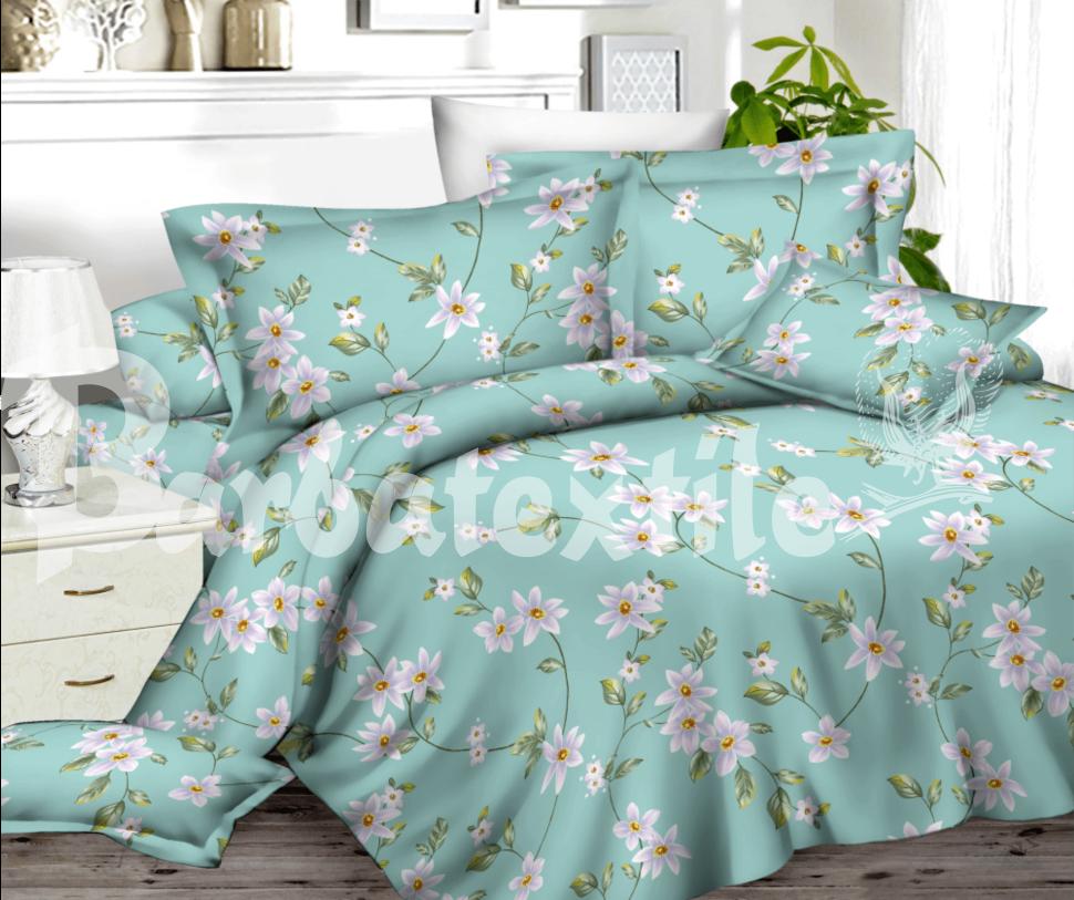 комплект постельного белья сатин ес-45-2
