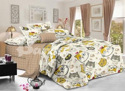комплект постельного белья сатин дс-57-4