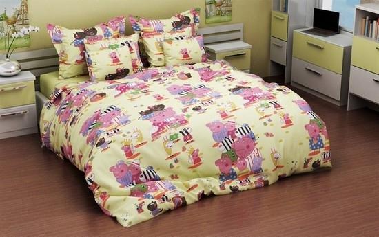постельное белье в кроватку бязь ДКБ-4032
