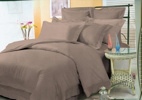 комплект постельного белья страйп-сатин ДСС-1418