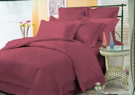 комплект постельного белья страйп-сатин ДСС-1840