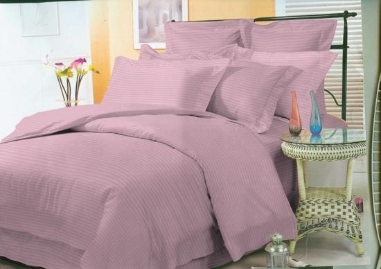 комплект постельного белья страйп-сатин ОСС-2305