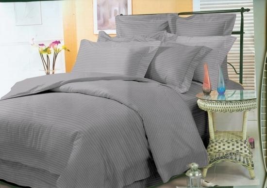 комплект постельного белья страйп-сатин ОСС-3802