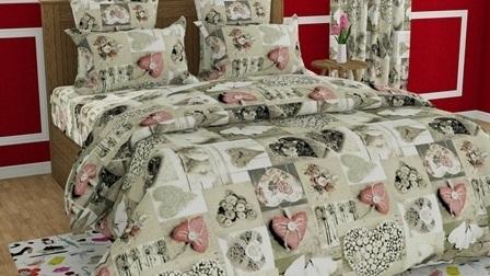 комплект постельного белья бязь об-7001