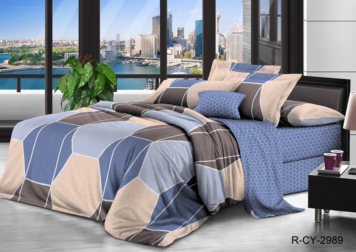комплект постельного белья ранфорс др-2989