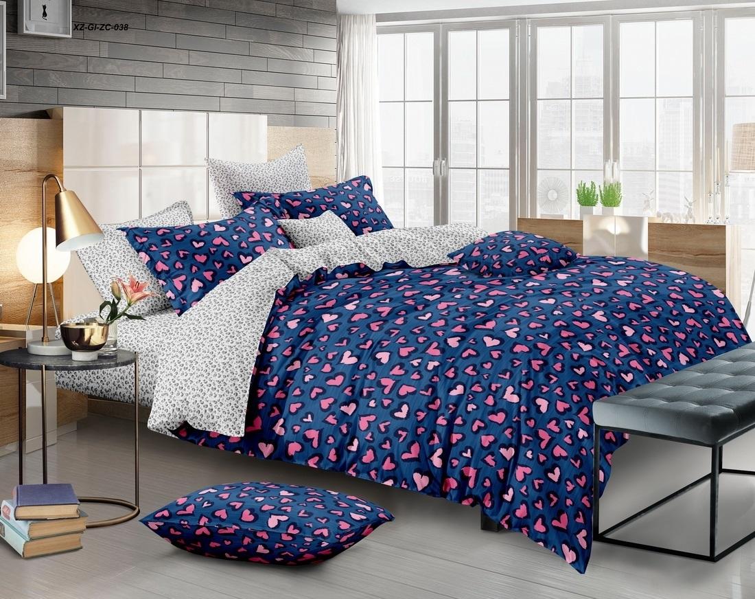 комплект постельного белья сатин ес-63-3