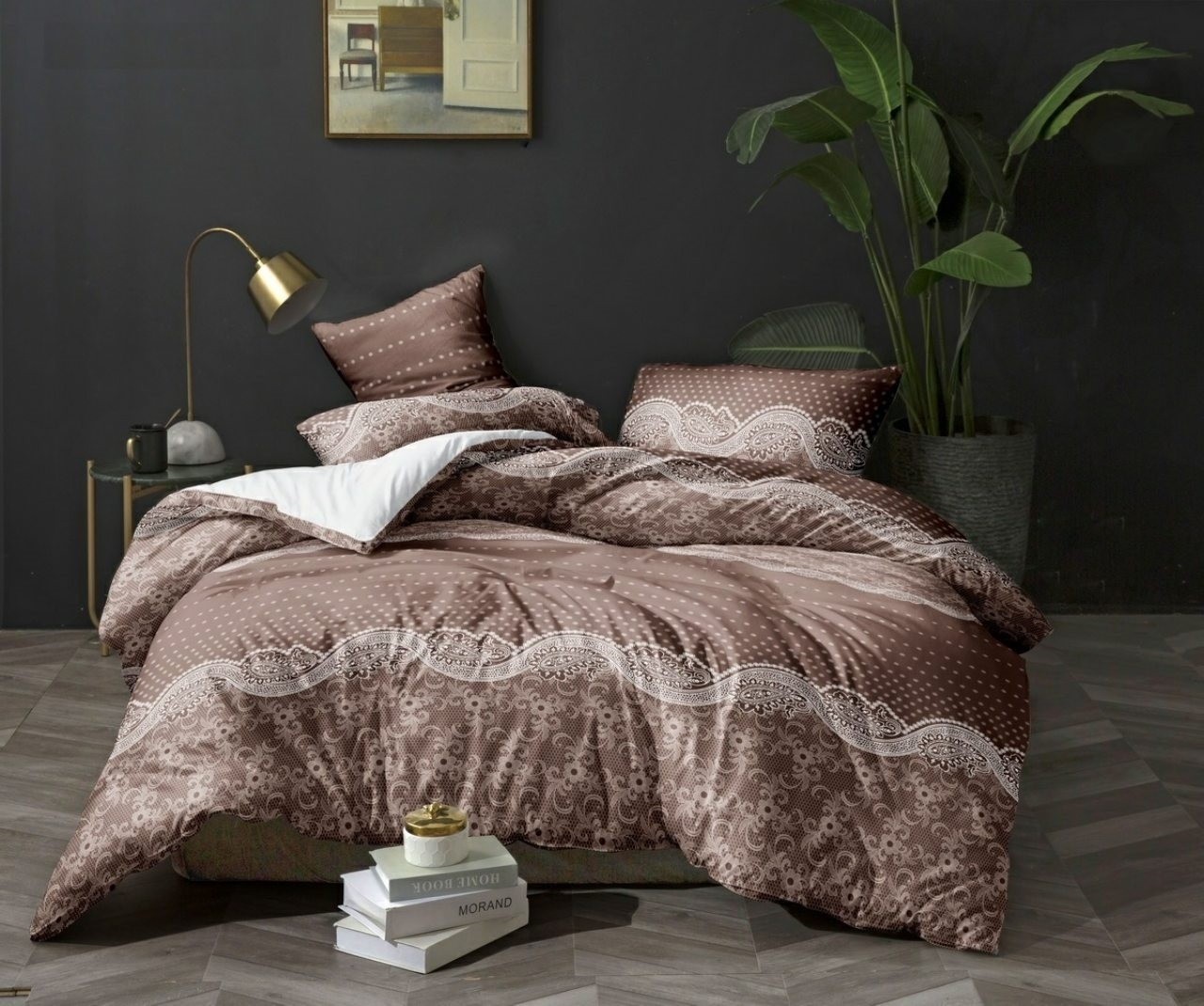 комплект постельного белья сатин ес-65-3