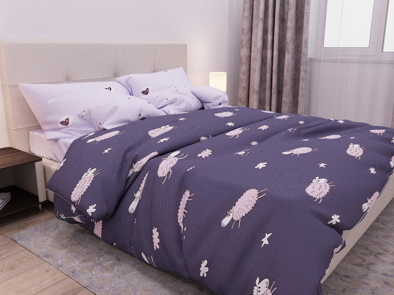 комплект постельного белья бязь об-4080