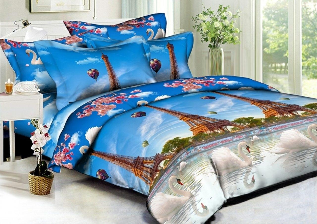 комплект постельного белья полисатин дпс120-5704