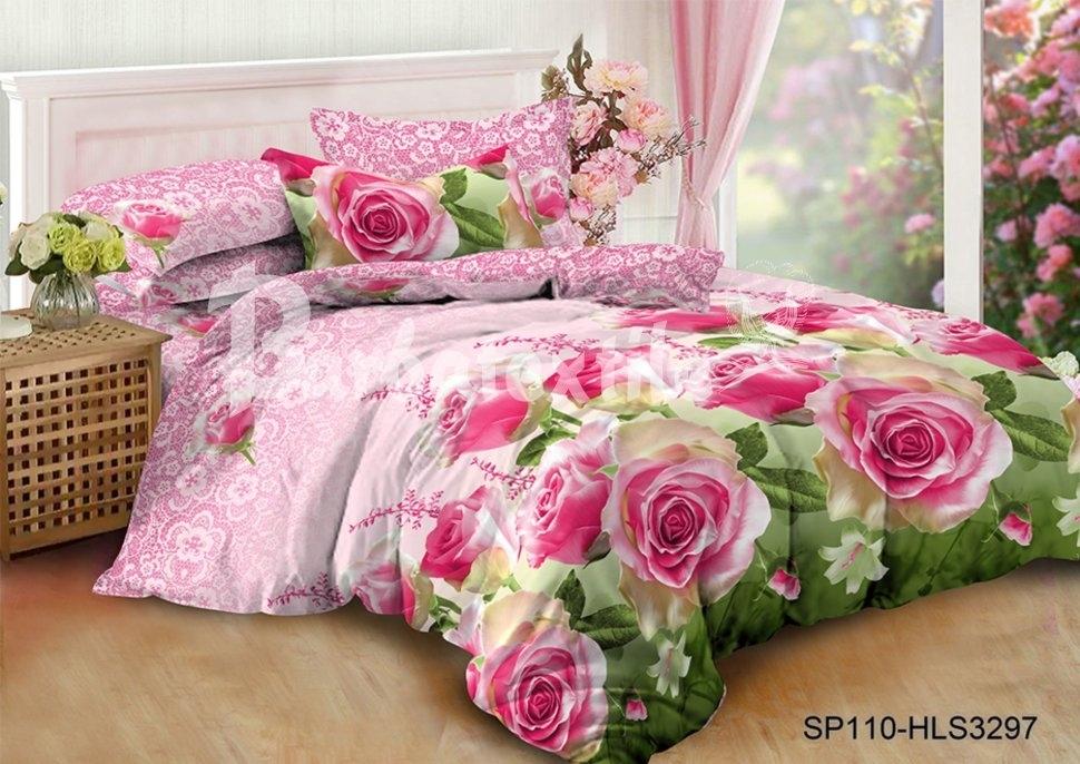 комплект постельного белья полисатин епс110-3397