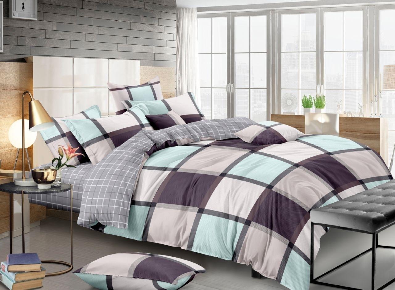 комплект постельного белья сатин ес-67-4