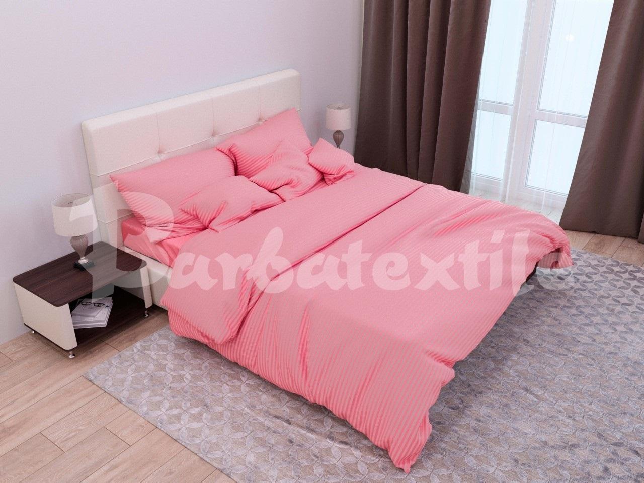 комплект постельного белья страйп-сатин ДСС-1640