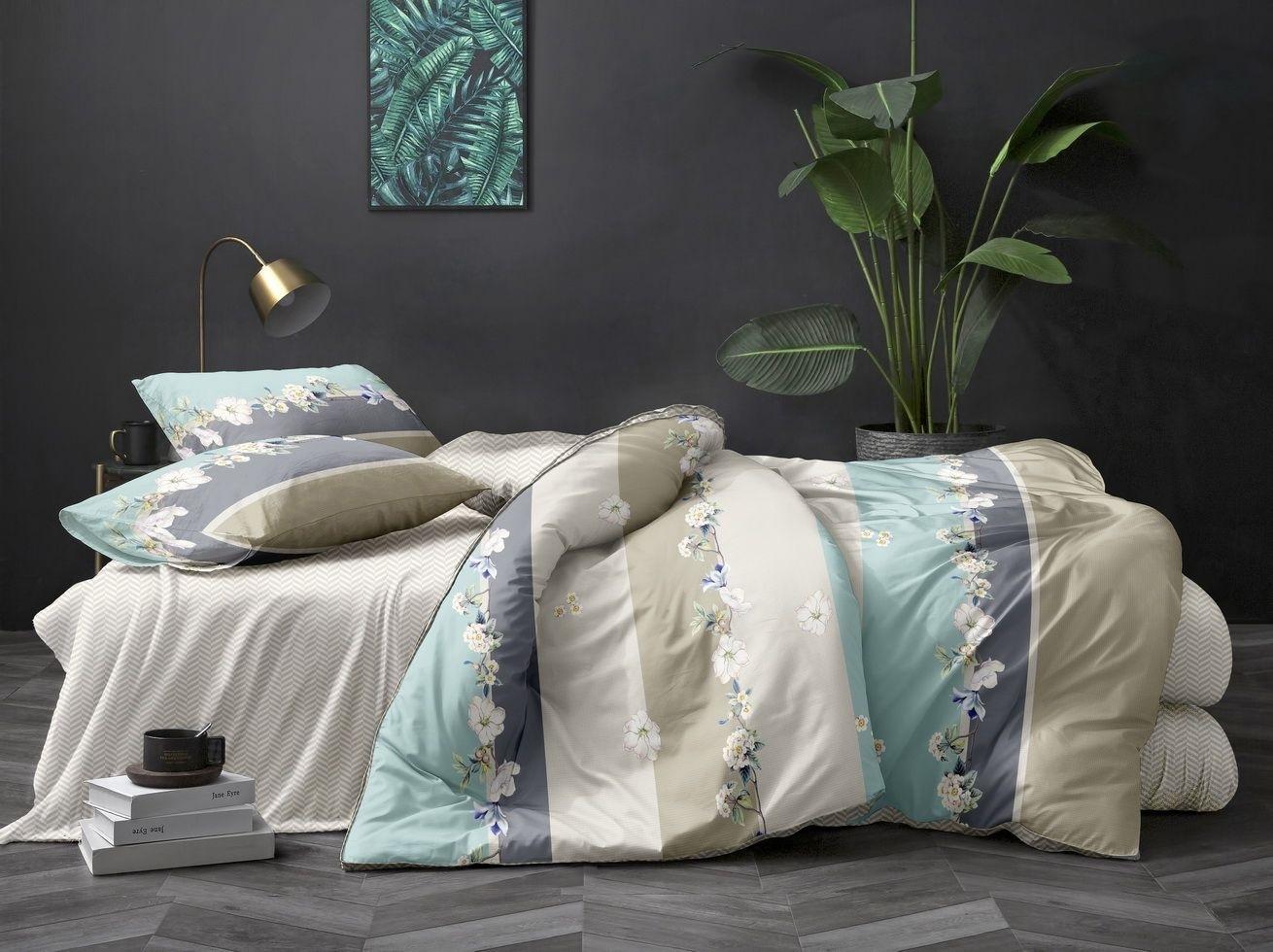 комплект постельного белья полисатин дпс135-0117