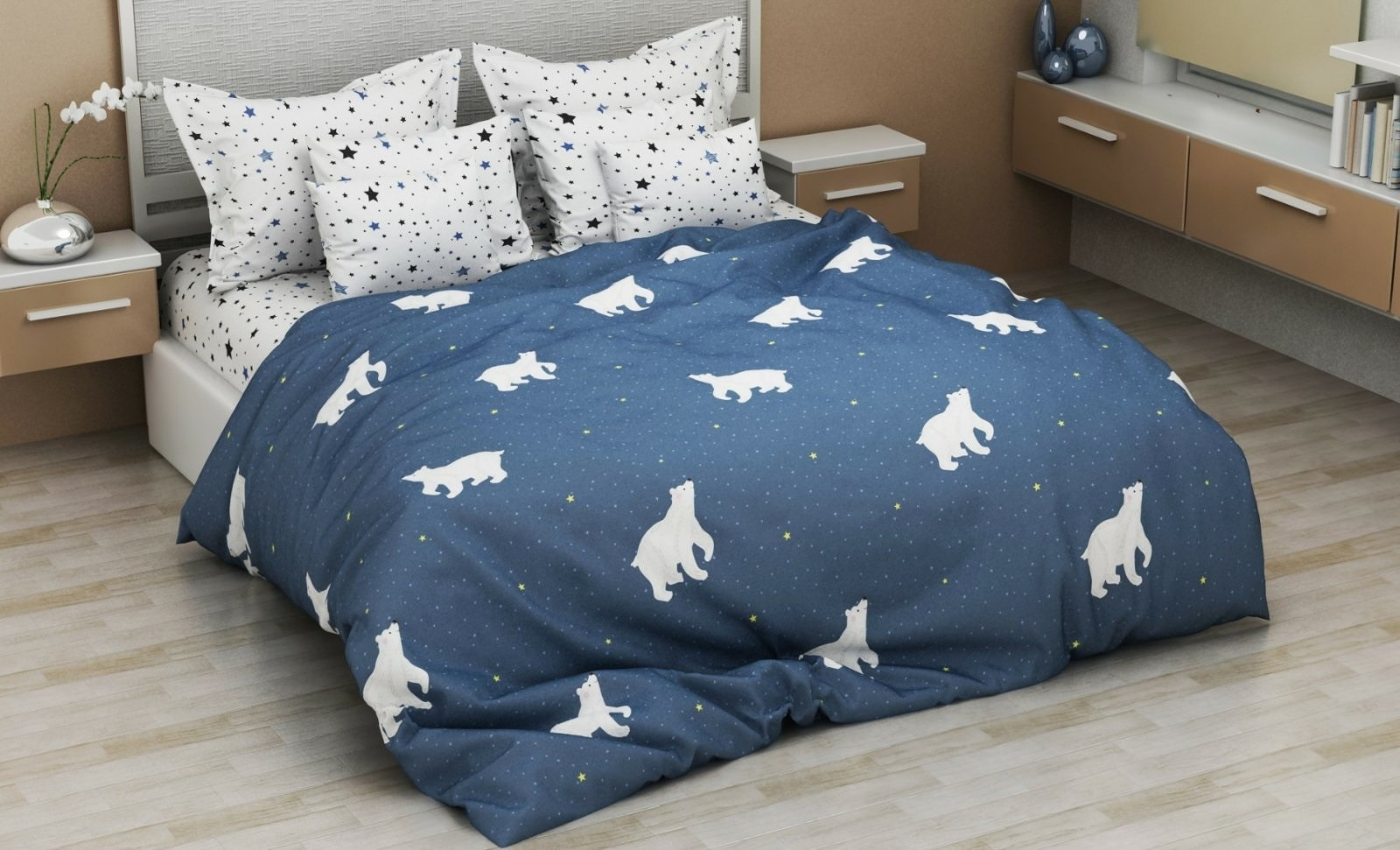 комплект постельного белья бязь дб-4166